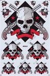 Skull Sticker Sheet D-502