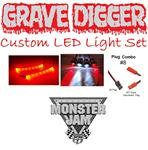 #13 Grave Digger Monster Jam Deluxe LED Set