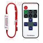A-101 RF Wireless Remote Controller Mini Dimmer 8 Settings
