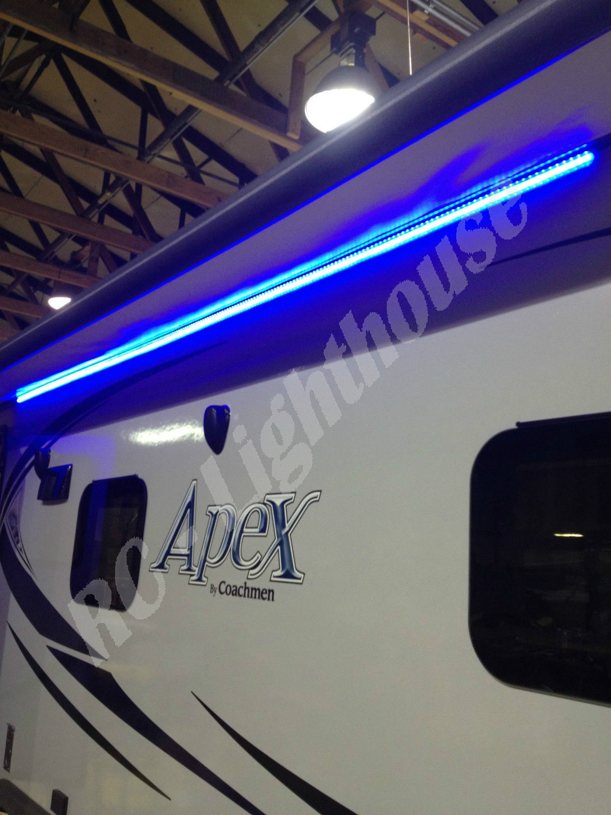 A1: RV LED Awning Light Set with IR Remote control 24 key ...
