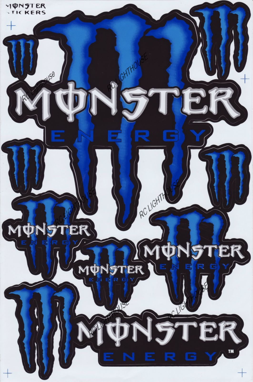 make monster sticker related keywords suggestions make