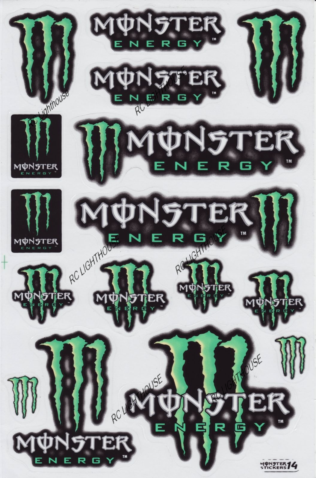 monster energy drink stickers images