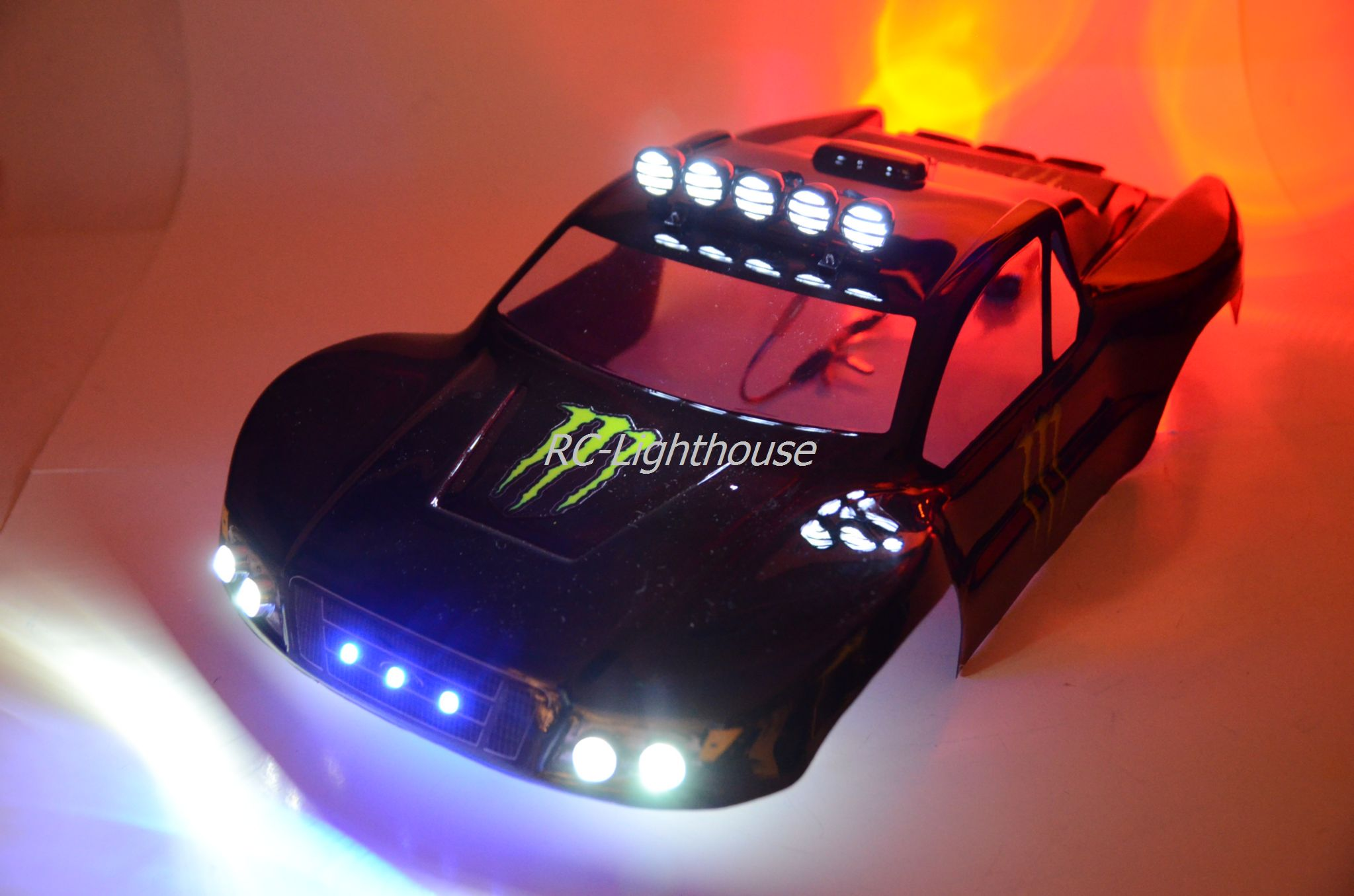 40 Deluxe Rc Led Light Set With Light Bar Rc Lighthouse