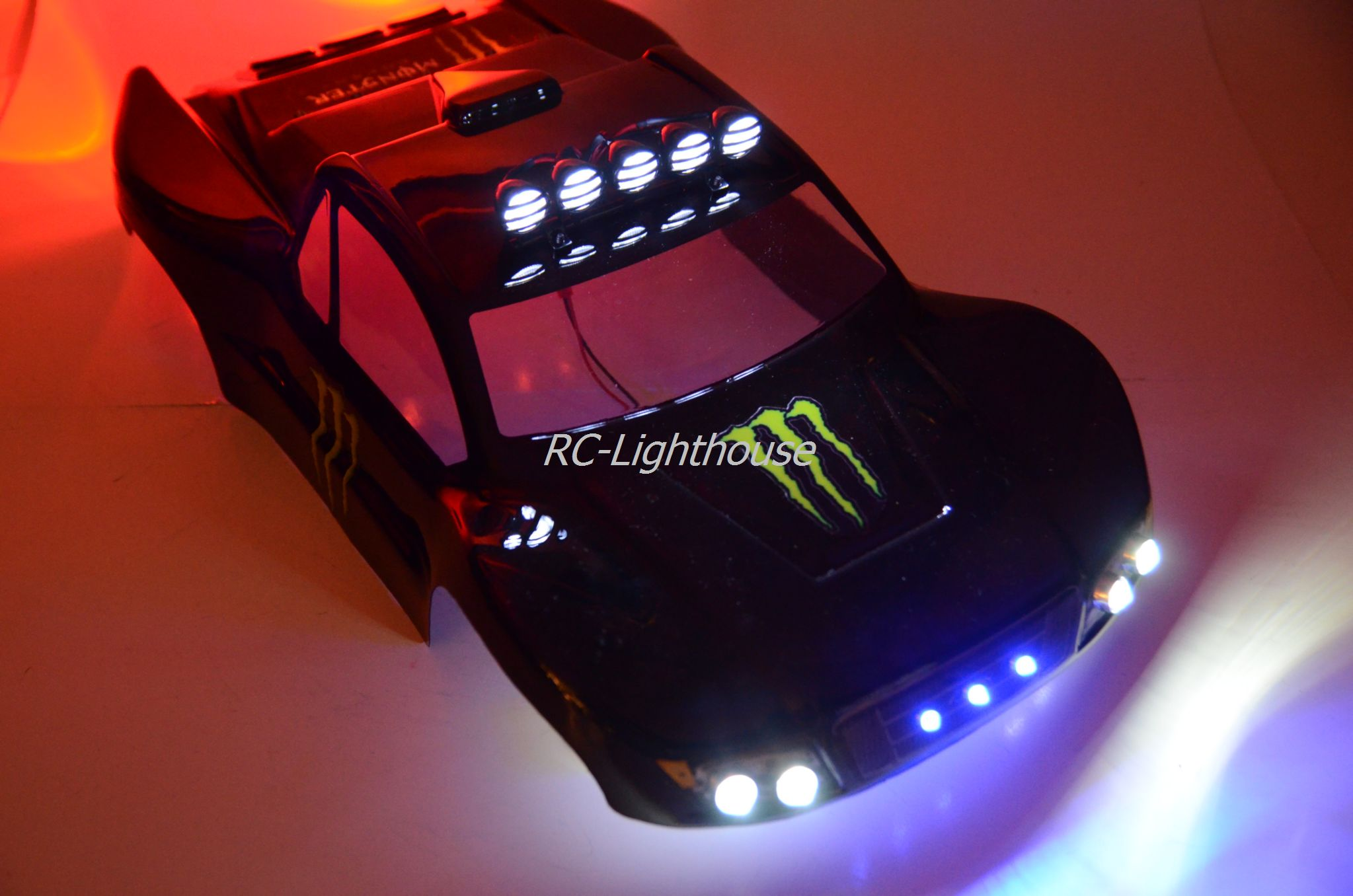 40 deluxe rc led light set with light bar rc lighthouse deluxe rc led light set with light bar 40 aloadofball Images