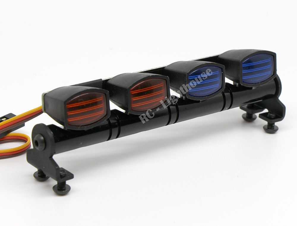 Rc led light bar with red and blue lenses rt rc lighthouse rc led light bar with red and blue lenses rt aloadofball Image collections