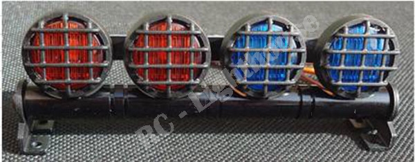 Rc led light bar with red and blue lenses rd rc lighthouse rc led light bar with red and blue lenses rd aloadofball Image collections