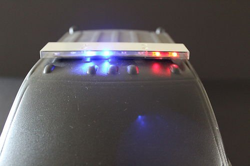 22 New Rc 1 10 Scale Police Led Light Bar Kit For Traxxas