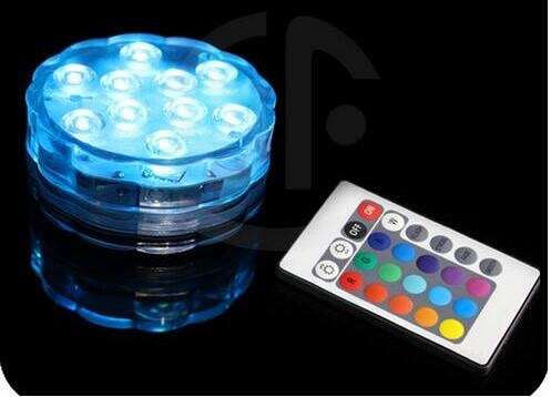 Led Light Puck Or Pod Remote Control Led Submersible